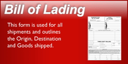 Bill of Lading Button