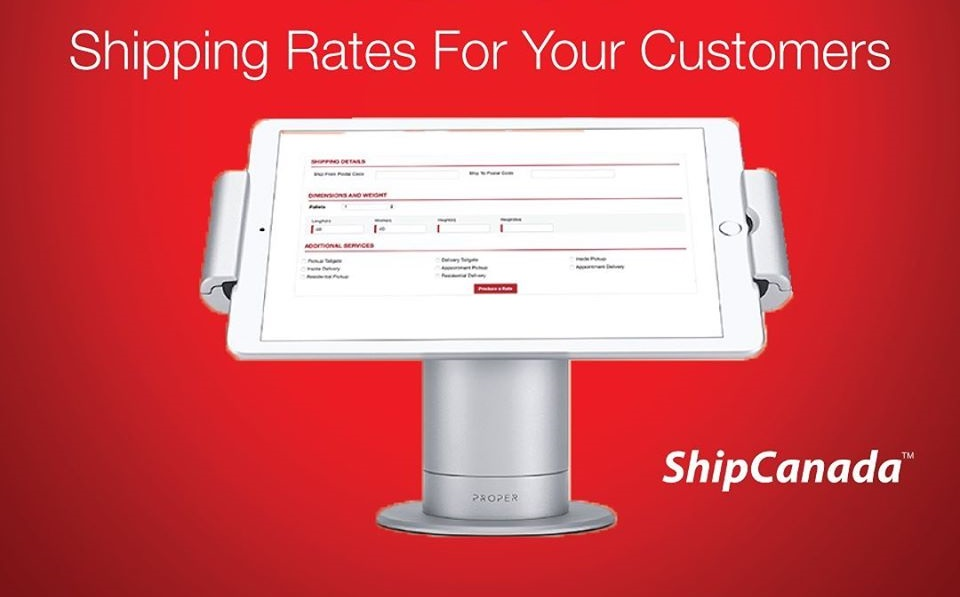 shipping rates in Canada